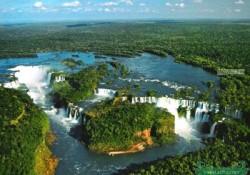 Iguazu water fall 伊瓜苏瀑布
