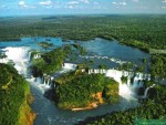 Iguazu water fall 伊瓜苏瀑布