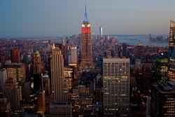 Top of the Rock 洛克菲勒中心(Rockefeller Center) 观景天台