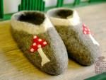 羊毛毡订制 敞口鞋-口袋市集
